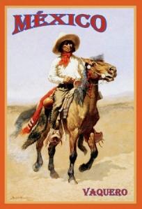 mexico_vaquero_vintage_travel_poster